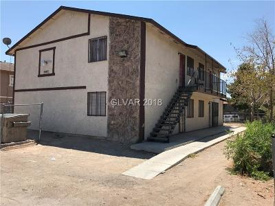 Henderson, Las Vegas Multi Family Home For Sale: 1647 Stevens Street