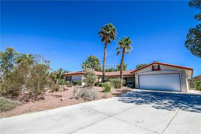 North Las Vegas Single Family Home For Sale: 4532 Pony Express Street