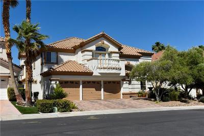 Las Vegas Single Family Home For Sale: 1817 Corta Bella Drive
