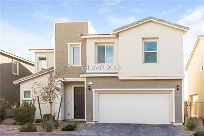 North Las Vegas Single Family Home Under Contract - No Show: 7056 Millers Run Street