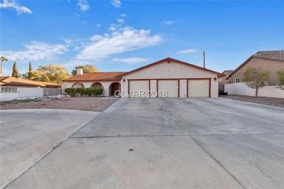 Las Vegas, North Las Vegas, Henderson Single Family Home For Sale: 5807 Alfred Drive