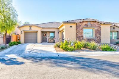 North Las Vegas Single Family Home Under Contract - No Show: 4733 Periana Court