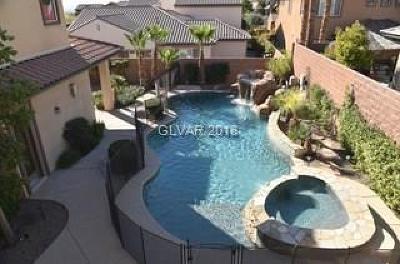 Las Vegas Single Family Home For Sale: 11517 White Cliffs Avenue