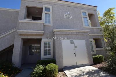 Condo/Townhouse For Sale: 3125 Buffalo Drive #1072