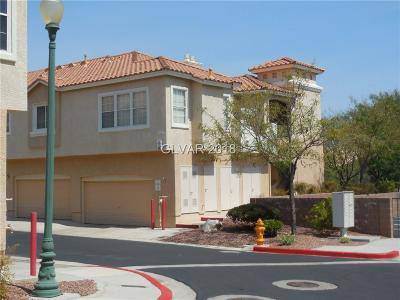 Boulder City Condo/Townhouse For Sale: 112 Harbor View Drive