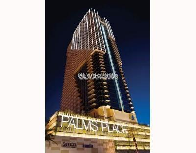Palms Place A Resort Condo & S High Rise Under Contract - No Show: 4381 Flamingo Road #2802