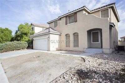 North Las Vegas Single Family Home For Sale: 1214 Cove Palisades Drive