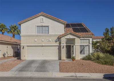 North Las Vegas Single Family Home Under Contract - No Show: 3114 New Journey Way