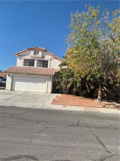 North Las Vegas Single Family Home For Sale: 4021 Dove Creek Road