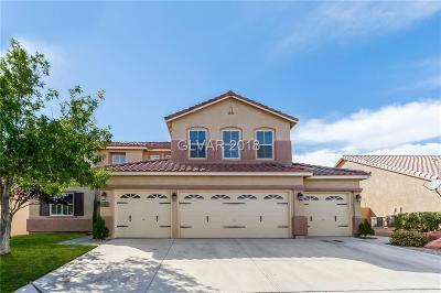North Las Vegas Single Family Home For Sale: 6323 Badgerglen Place