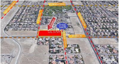 las vegas Residential Lots & Land For Sale: 8538 Craig Rd