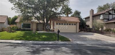 Henderson NV Single Family Home Under Contract - No Show: $270,000