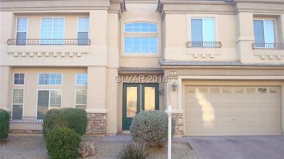 Las Vegas NV Single Family Home For Sale: $600,000