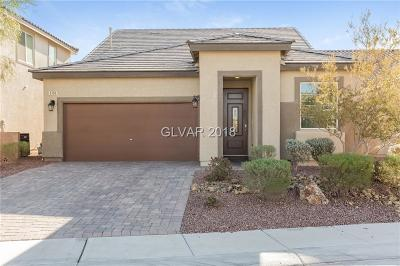 North Las Vegas Single Family Home For Sale: 5756 Clear Haven Lane