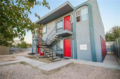 North Las Vegas Multi Family Home For Sale: 2128 Bassler Street