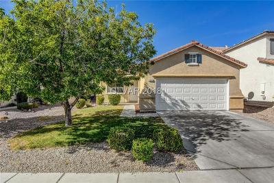 North Las Vegas Single Family Home Under Contract - No Show: 5623 Indian Springs Street