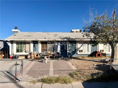 Blue Diamond, Boulder City, Henderson, Las Vegas, North Las Vegas, Pahrump Single Family Home Under Contract - No Show: 4008 Edwin Place