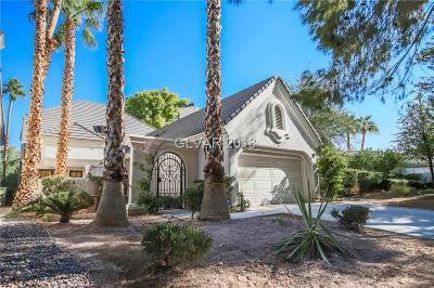 Las Vegas Single Family Home For Sale: 3148 Bel Air Drive