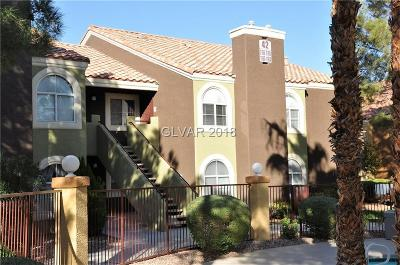 Condo/Townhouse For Sale: 7950 West Flamingo Road #2168