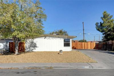 North Las Vegas Single Family Home Under Contract - No Show: 3704 Reynolds Avenue