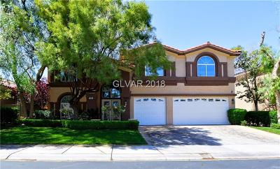 Seven Hills Single Family Home For Sale: 1385 Via Savona Drive