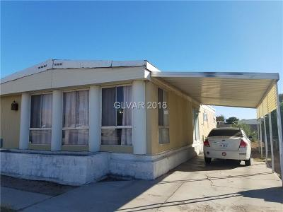 Las Vegas Manufactured Home For Sale: 4957 Saguaro Way