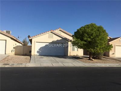 North Las Vegas Single Family Home For Sale: 5322 Jose Ernesto Street