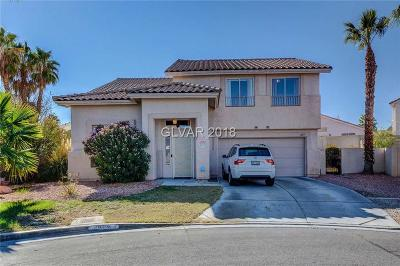 Las Vegas Single Family Home For Sale: 1605 Vespertina Court