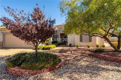 Henderson Single Family Home For Sale: 2330 Sand Lily Street