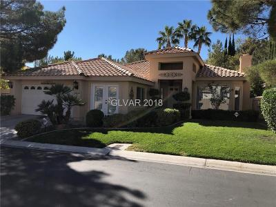 Las Vegas Single Family Home For Sale: 8969 Rivers Edge Drive