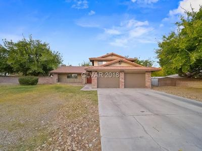 Clark County Single Family Home For Sale: 7380 Deer Springs Way
