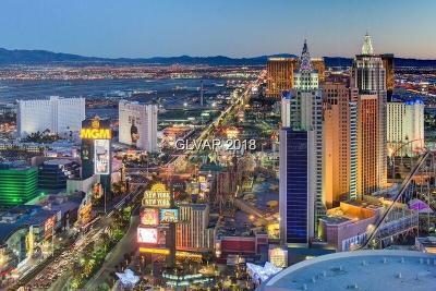 Resort Condo At Luxury Buildin High Rise For Sale: 3750 South Las Vegas Boulevard #3301