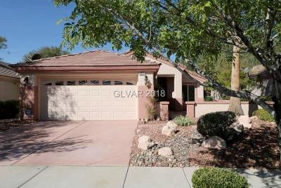 Henderson Single Family Home Under Contract - No Show: 2007 High Mesa Drive