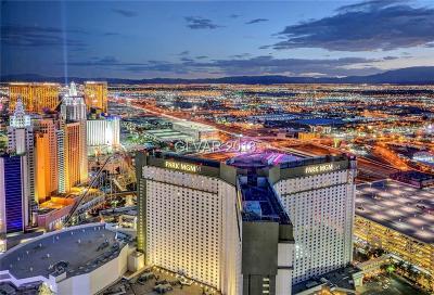 Resort Condo At Luxury Buildin High Rise For Sale: 3750 South Las Vegas Boulevard #3710