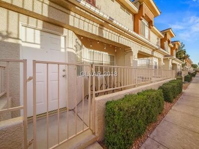 Condo/Townhouse Under Contract - No Show: 1331 Silver Sierra Street