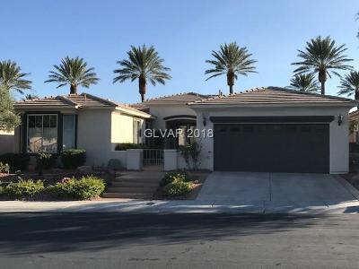 Las Vegas Single Family Home For Sale: 10647 Riva De Fiore Avenue