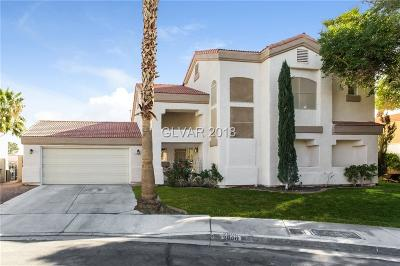 Las Vegas Single Family Home For Sale: 2800 Old Sterling Street