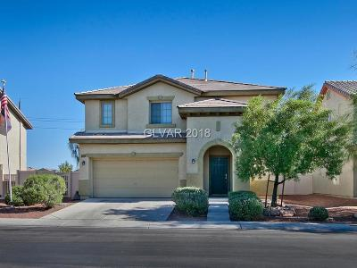 North Las Vegas Single Family Home Under Contract - Show: 5624 Grandmother Hat Street