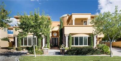 LAS VEGAS Single Family Home For Sale: 9256 Tournament Canyon Drive