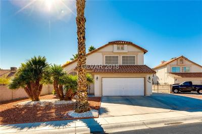 North Las Vegas Single Family Home For Sale: 4423 Millrun Court