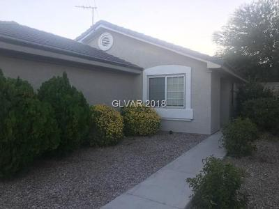 Las Vegas Single Family Home Under Contract - No Show: 7537 Wandering Street