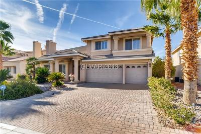 Las Vegas Single Family Home For Sale: 11093 Scotscraig Court