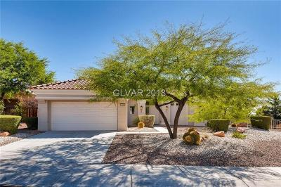 Las Vegas Single Family Home For Sale: 1900 Green Wave Court