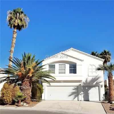 North Las Vegas Single Family Home For Sale: 4860 Los Amigos Circle