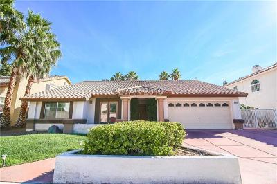 Las Vegas Single Family Home For Sale: 4412 Pioneer Way
