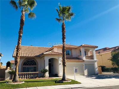 Las Vegas Single Family Home For Sale: 3654 Emerald Beach Court