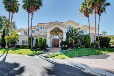 Las Vegas Single Family Home For Sale: 2111 Strada Mia Court