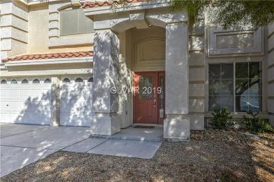 Las Vegas Single Family Home For Sale: 6744 Coronado Crest Avenue
