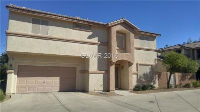 Henderson Single Family Home For Sale: 1441 Summer Glow Avenue
