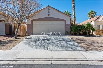 North Las Vegas Single Family Home For Sale: 4523 Powell Point Way